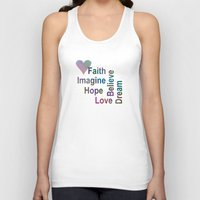 inspirational Tank Tops featuring Inspirational by LLL Creations