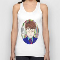 rushmore Tank Tops featuring I Saved Latin, What Did You Ever Do? - Rushmore by Lovemaltine