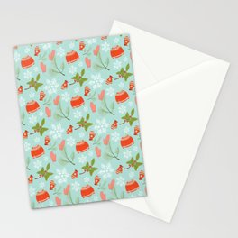 Winter Wonderland WinterMint Stationery Cards