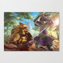 Unwavering Resolve Canvas Print