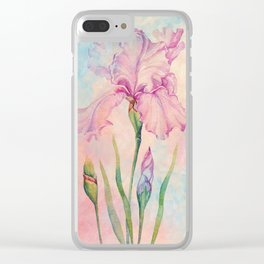 Angel Iris - Pure of Heart Clear iPhone Case
