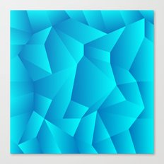 Mountain Grid Gradient Canvas Print