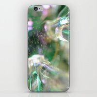 snowflake iPhone & iPod Skins featuring snowflake by Lalina ChristmasShop