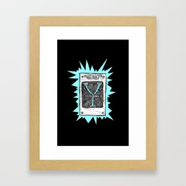 1.21 Gigawatts Framed Art Print