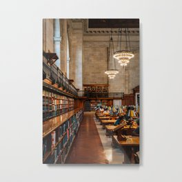 New York Public Library 01 Metal Print