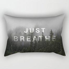 Just Breathe Rectangular Pillow