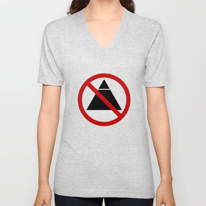 No Illuminati-ing Unisex V-Neck