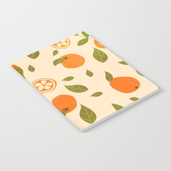 Oranges lover Notebook