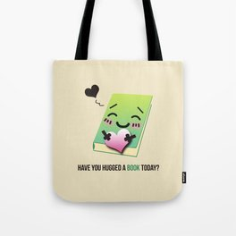 Book Emoji Love Tote Bag