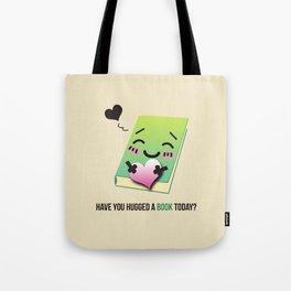 Book Emoji Love Tote Bag