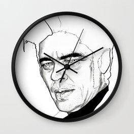 Benicio Del Toro Wall Clock