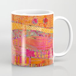 Firewalk Abstract Art Collage Coffee Mug
