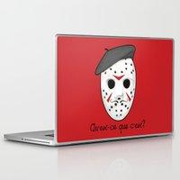 psycho Laptop & iPad Skins featuring Psycho Killer by castlepöp