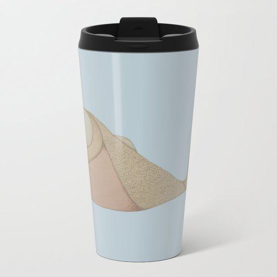 Pyramid Fish Metal Travel Mug