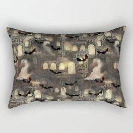 haunted castle Rectangular Pillow