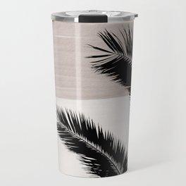 Palms Abstract - Naturelle #1 #minimal #wall #decor #art #society6 Travel Mug