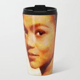 Eartha Kitt, Music Legend Travel Mug