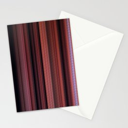 Digital Stripes Come Out To Play ver.1 Stationery Cards