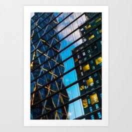 Facades of NY - 07 Art Print