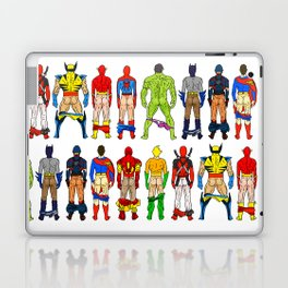 Superhero Butts Laptop & iPad Skin