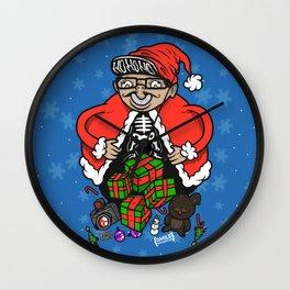 2012 Holiday Collaboration with Michael Shantz Wall Clock