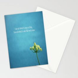 """""""Famous Last Words"""" Stationery Cards"""