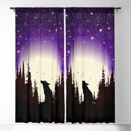 Forest Fox Blackout Curtain
