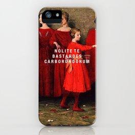 the bastards iPhone Case