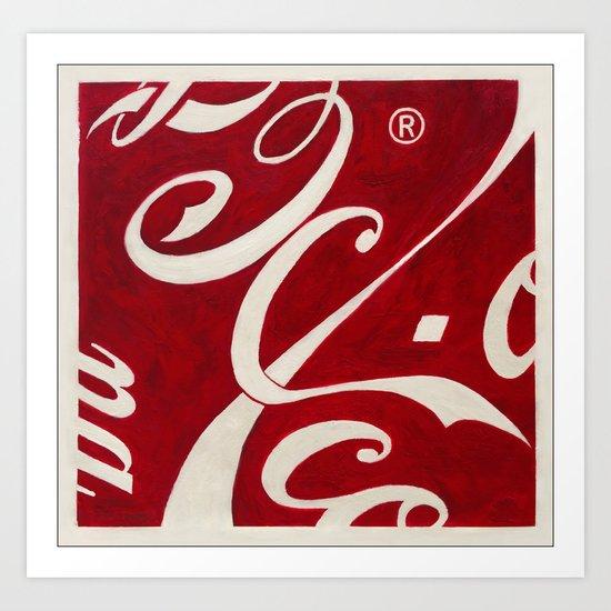Cola-Coca Art Print