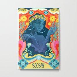 SXSW Mock Poster Metal Print