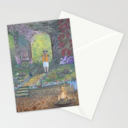 Maxine's Garden Stationery Cards