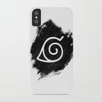 naruto iPhone & iPod Cases featuring Naruto by Bradley Bailey