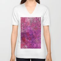 las vegas V-neck T-shirts featuring Las Vegas by Andrea Gingerich