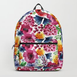 Bright Blooms Backpack