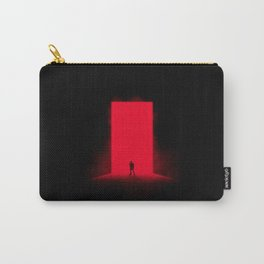 Red Monolith Carry-All Pouch