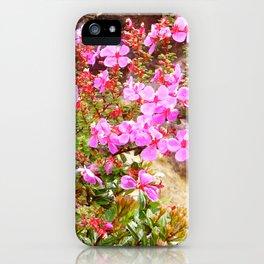 Volcanic Petals iPhone Case