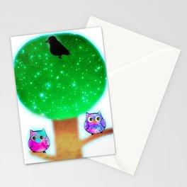 owl 357 Stationery Cards