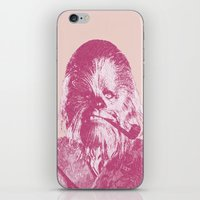 chewbacca iPhone & iPod Skins featuring Chewbacca by NJ-Illustrations