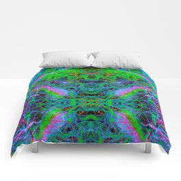 Techno Electric IV (Ultraviolet) Comforters