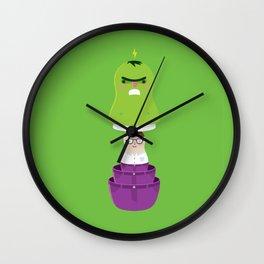 Smashtrioska Wall Clock