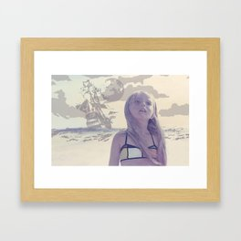 Wendy Framed Art Print