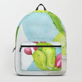 Cactus Bulb Watercolor Backpack