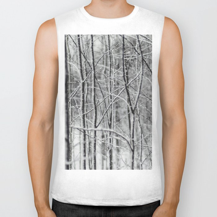 Frosted Forest Biker Tank