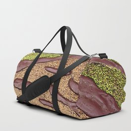 Sparkle Landscape / Abstract Acrylic Painting Duffle Bag