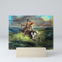 Eugène Delacroix The Education of Achilles Mini Art Print