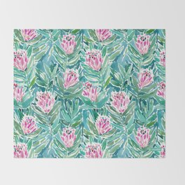 PROTEA PARADISE Throw Blanket