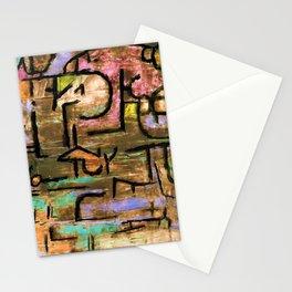 12,000pixel-500dpi - Paul Klee - Digital Remastered Edition - After the Flood Stationery Cards