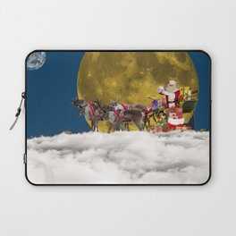 Santa and His Sleigh Laptop Sleeve