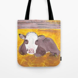 A Heifer Calf Named Darla Tote Bag