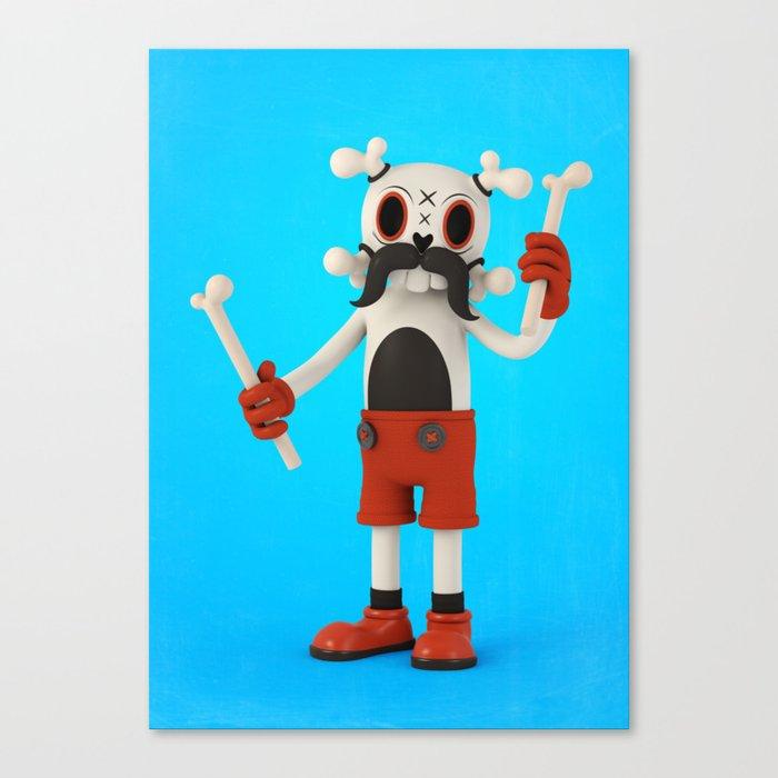 Mr.Bones Canvas Print